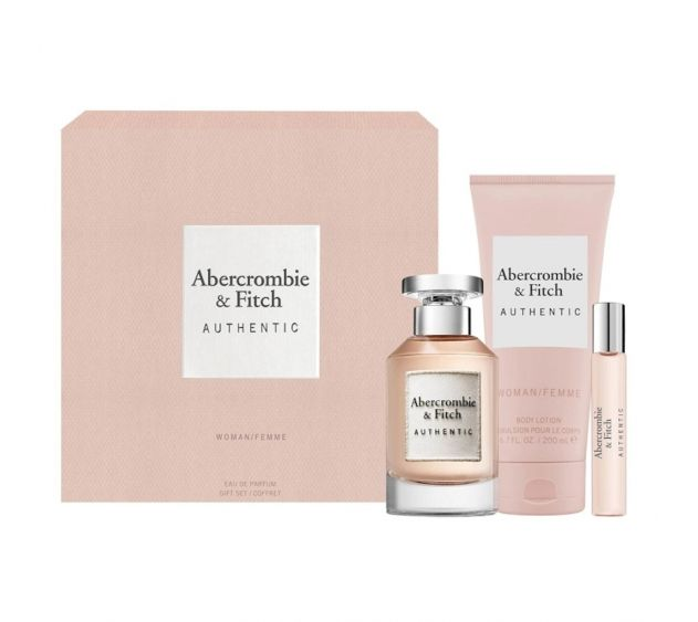 ABERCROMBIE & FITCH - Coffret Authentic Woman 100ml