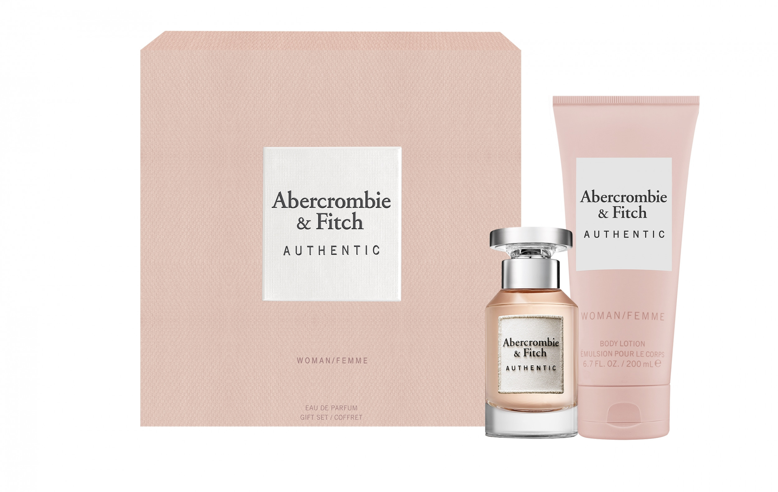 ABERCROMBIE & FITCH - Coffret Authentic Woman 50ml