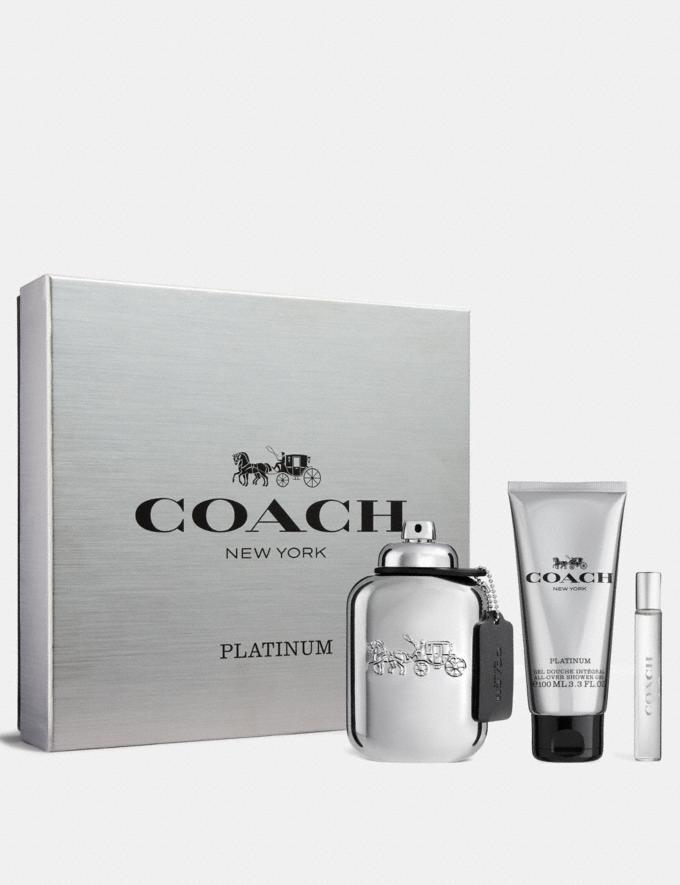 COACH - Coffret Platinium 100ml