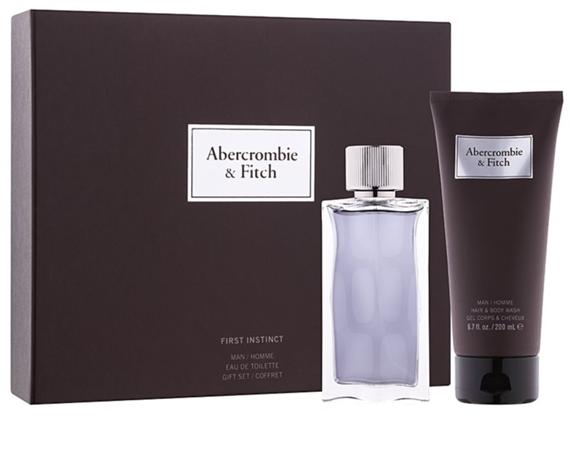 ABERCROMBIE & FITCH - Coffret First Instinct for Him 50ml